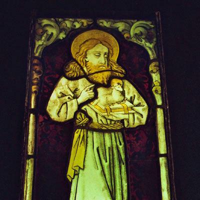 18.08.2009 – Dettensee kath. Kirche St. Cyriak, Restaurierung der spätmittelalterlichen Verglasungen im Chorraum