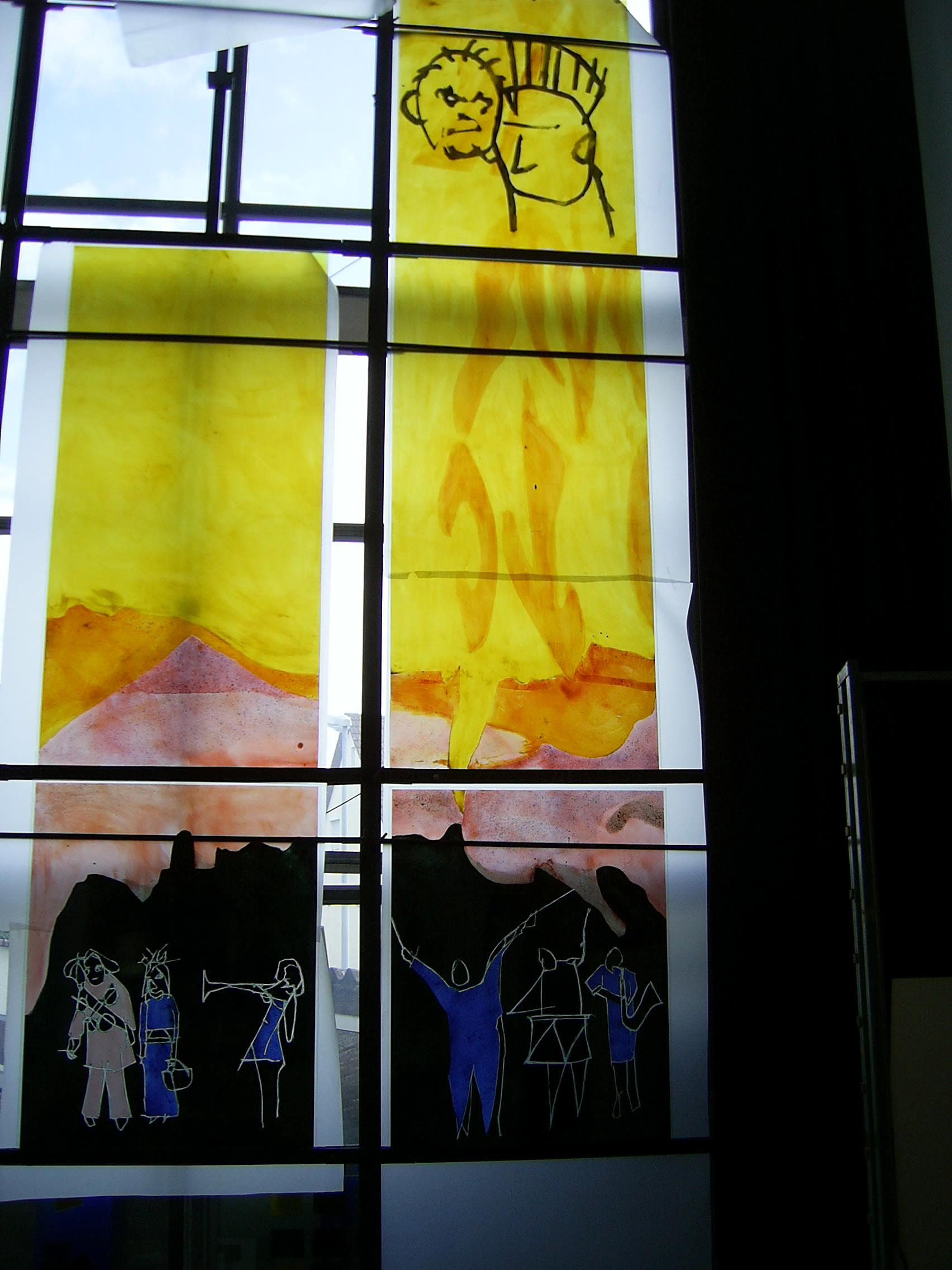 Gabi Weiss, Detail Werkstatt, Hengstler Areal Wehingen, 2008