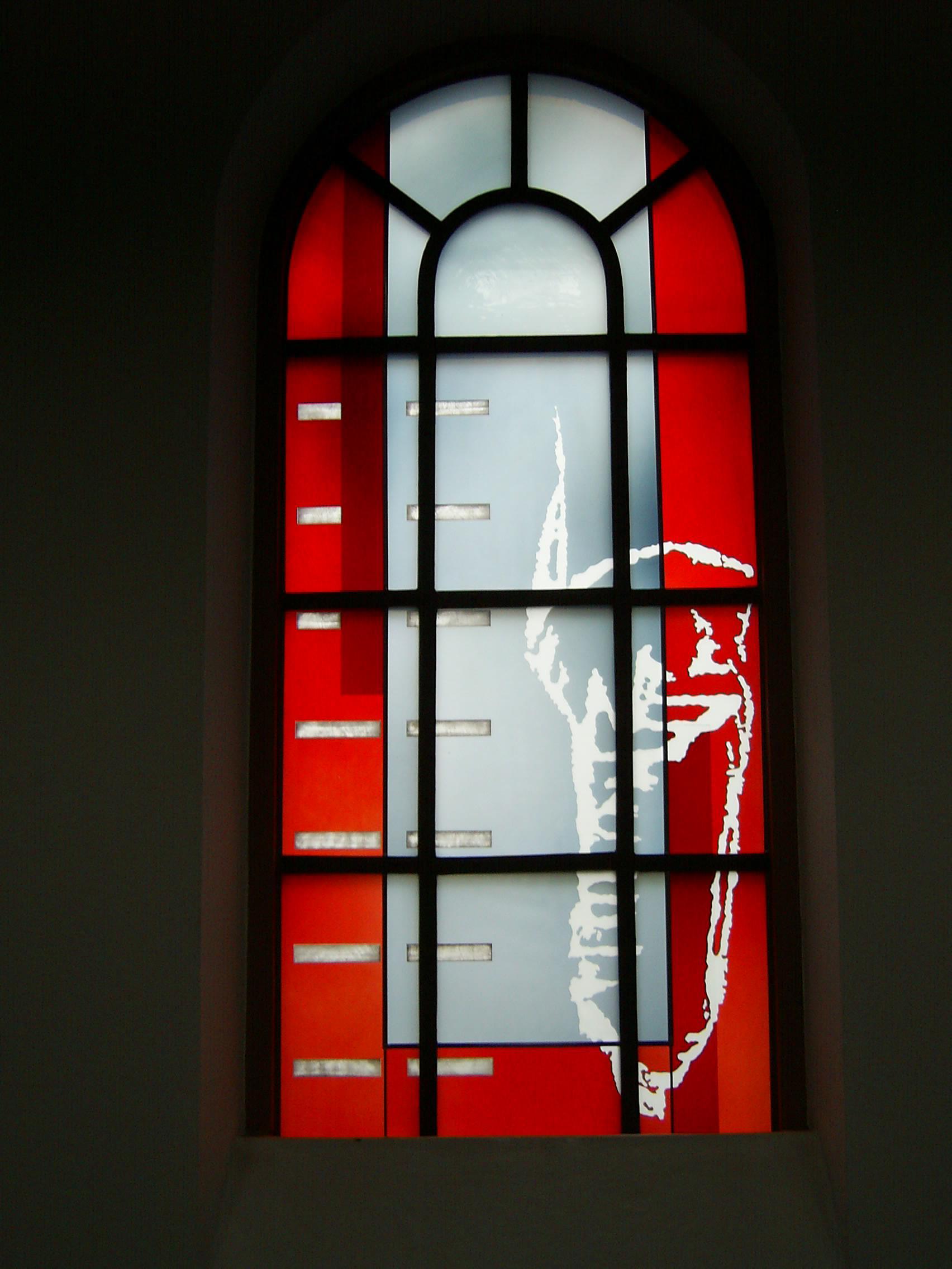Michael Münzer, Mannheim-Lindenhof, kath. Kirche 2004